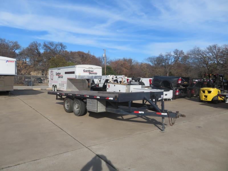 2014 Other 96 x 20 Flatbed Trailer