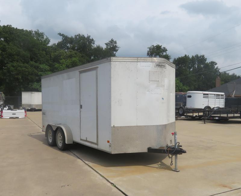 Rental 75 - Haulmark 7' x 16' Enclosed Cargo Trailer