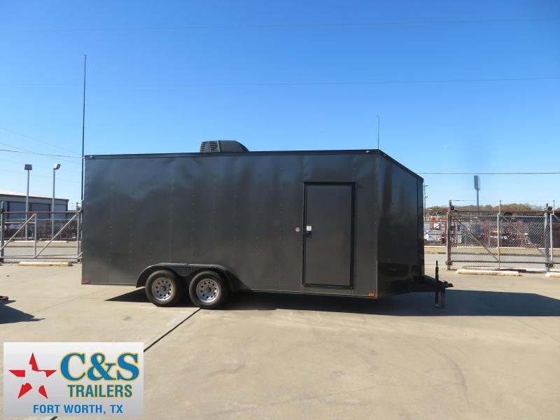 2019 Spartan Cargo 7 x 18 Enclosed Cargo Trailer