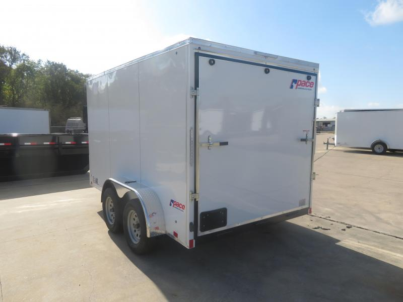 2020 Pace American 7 x 12 TA Enclosed Cargo Trailer
