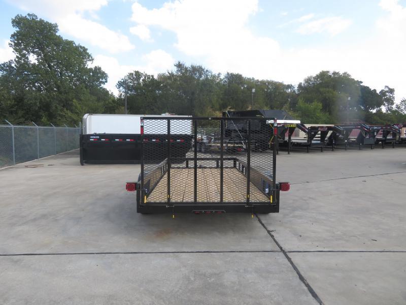2020 Buck Dandy 77 x 14 Utility Trailer