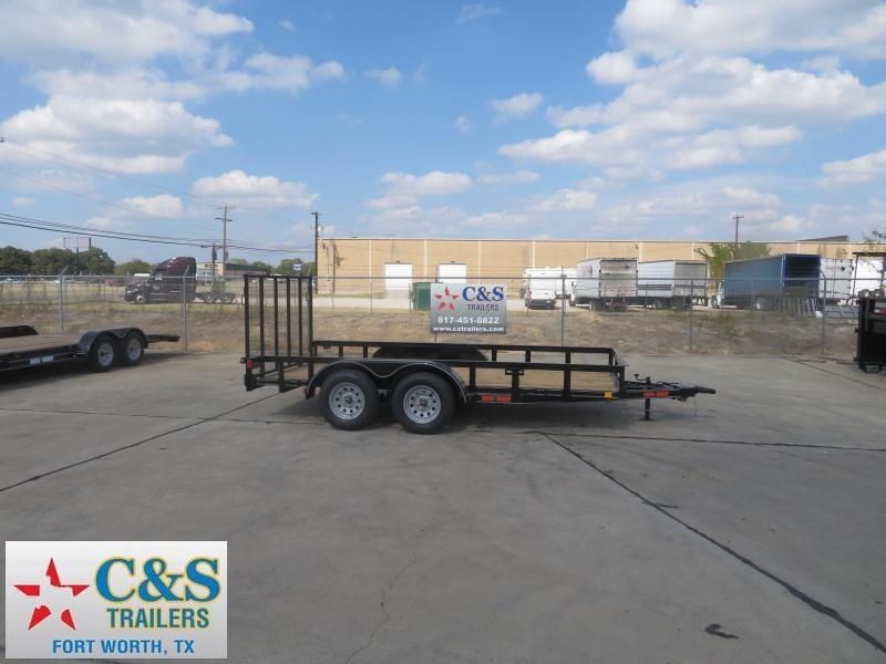2020 Buck Dandy 77 x 14 Utility Trailer