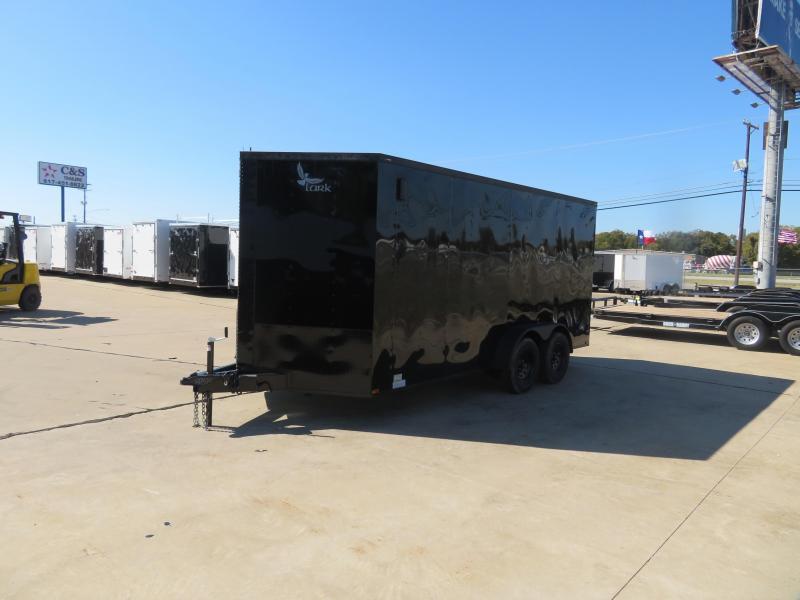 2020 Lark 7 x 16 Enclosed Cargo Trailer