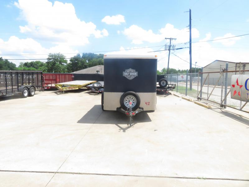 Rental 42 - North American 6' x 12' Enclosed Cargo Trailer