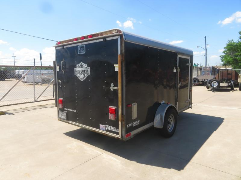 Rental 71 - 2011 Cargo Mate  7 x 12 Motorcycle Motorcycle Trailer