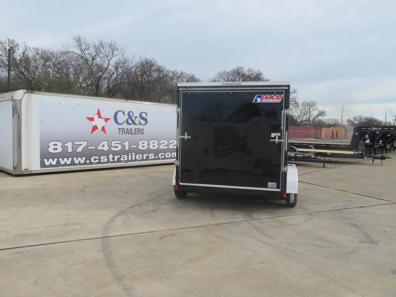 2020 Pace American 7 x 12 Enclosed Cargo Trailer