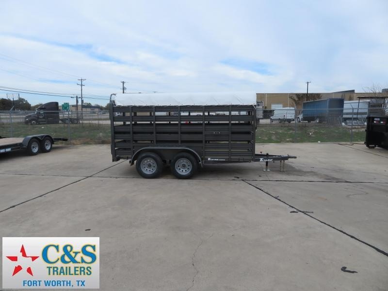 2020 TexLine 6 X 12 Livestock Trailer