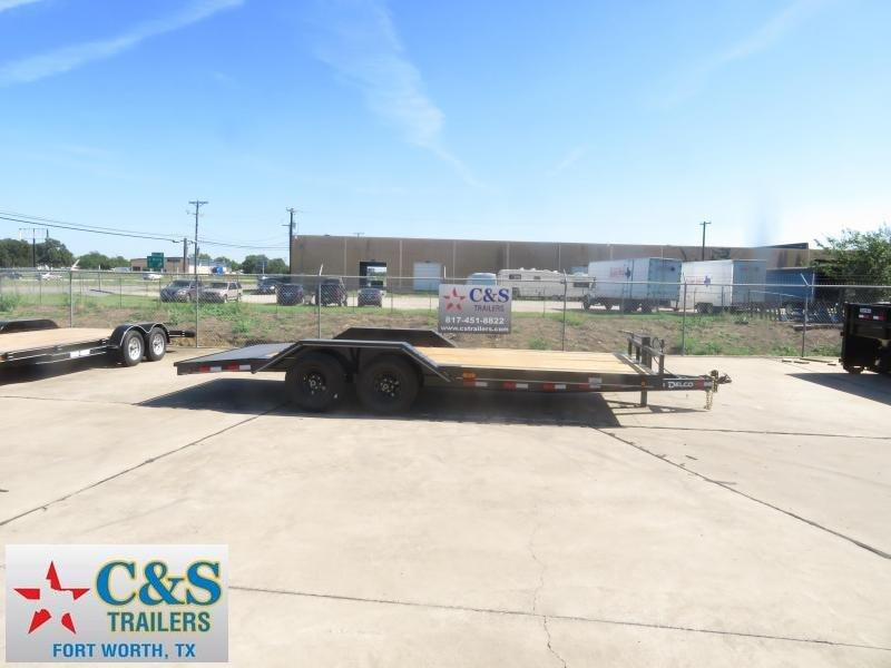 2019 Delco Trailers 102 x 20 Equipment Trailer