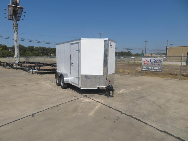 2020 Lark 6 x 12 TA Enclosed Cargo Trailer