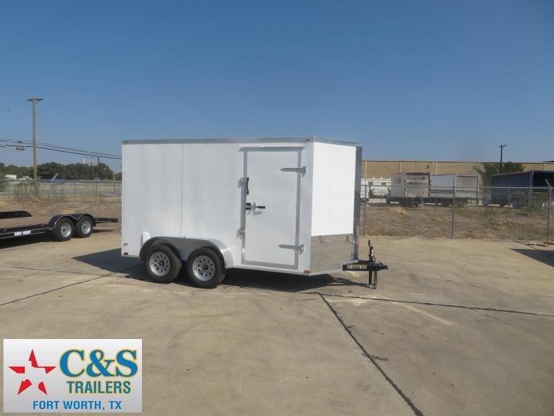 2020 Lark 6 x 12 TA Enclosed Cargo Trailer