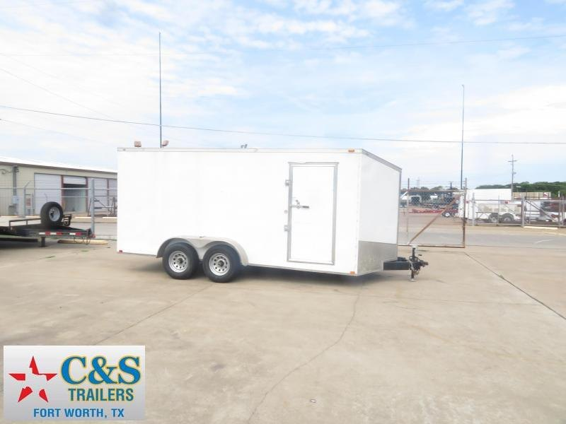 2017 Spartan 7 x 16 Enclosed Cargo Trailer