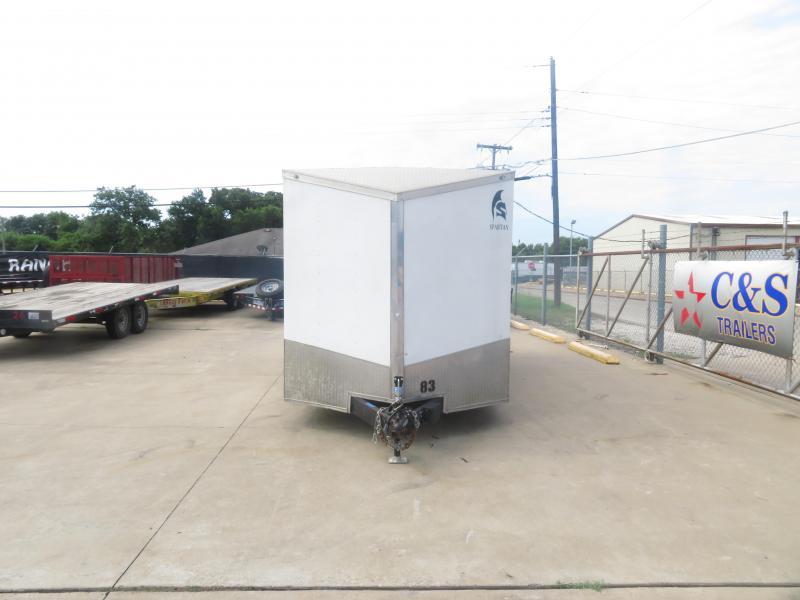 2017 Spartan 7 x 16 Enclosed Cargo Trailer