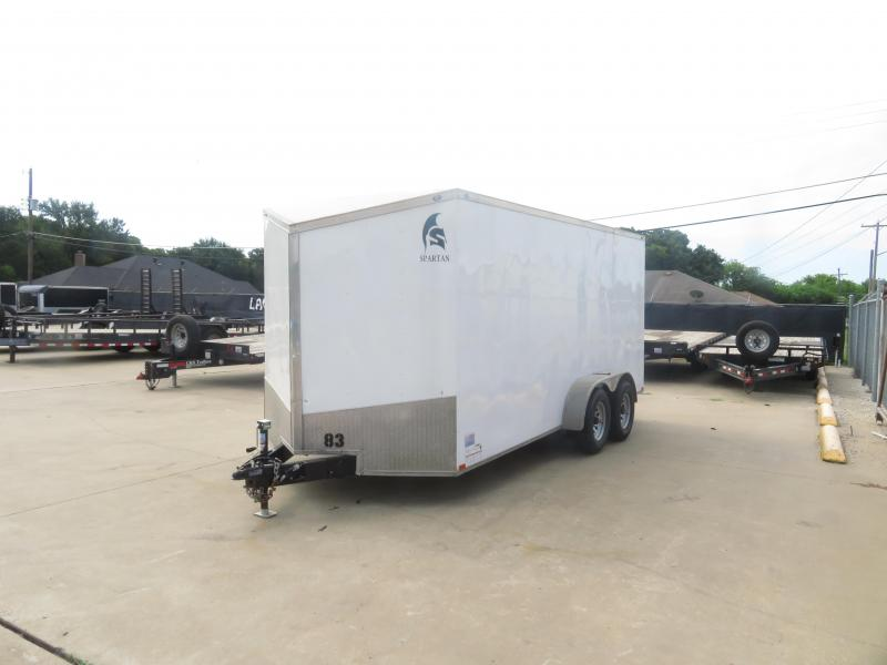 Rental 83 - 2017 Spartan 7 x 16 Enclosed Cargo Trailer