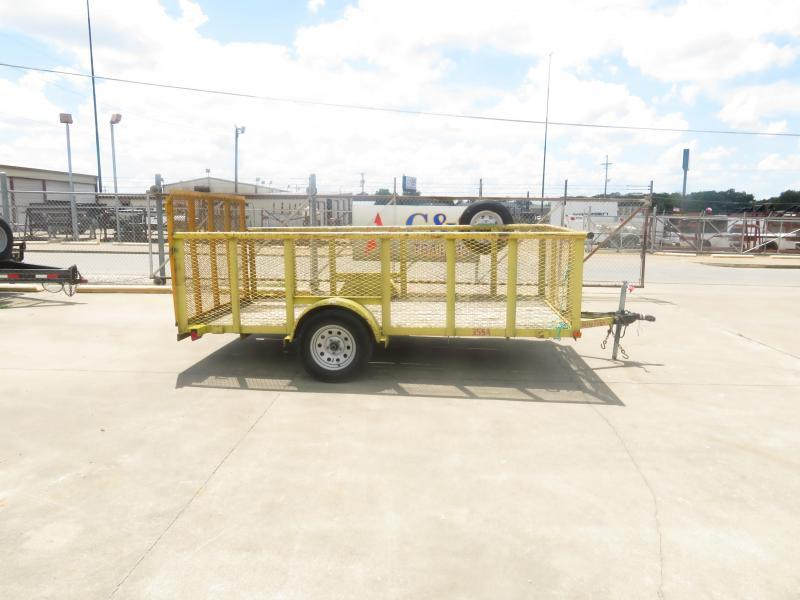 "Rental 8 - Big Tex 77"" x 12' Landscape Utility Trailer"