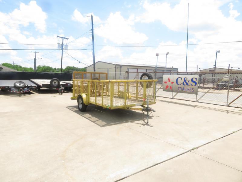 """Rental 8 - Big Tex 77"""" x 12' Landscape Utility Trailer"""