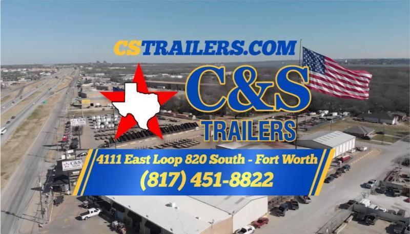 2020 Lark 6 X 12 Enclosed Cargo Trailer