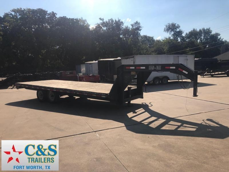 2006 Load Max 102 X 20 Flatbed Trailer