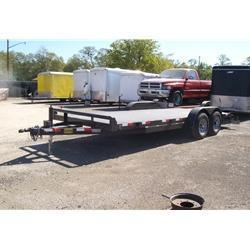 "Rental 39 - C & S 18'+2' X 82"" SFCH Car Hauler"