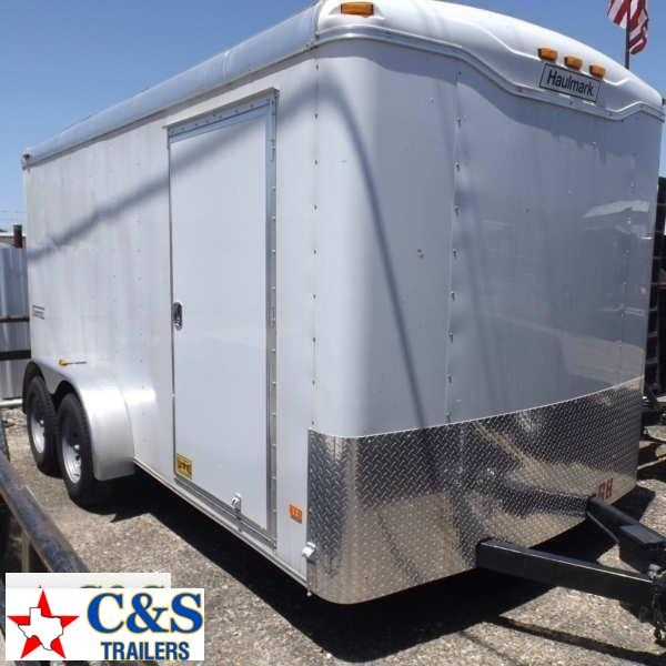 Rental 68 - 2015 Haulmark 14 Cargo Enclosed Cargo Trailer