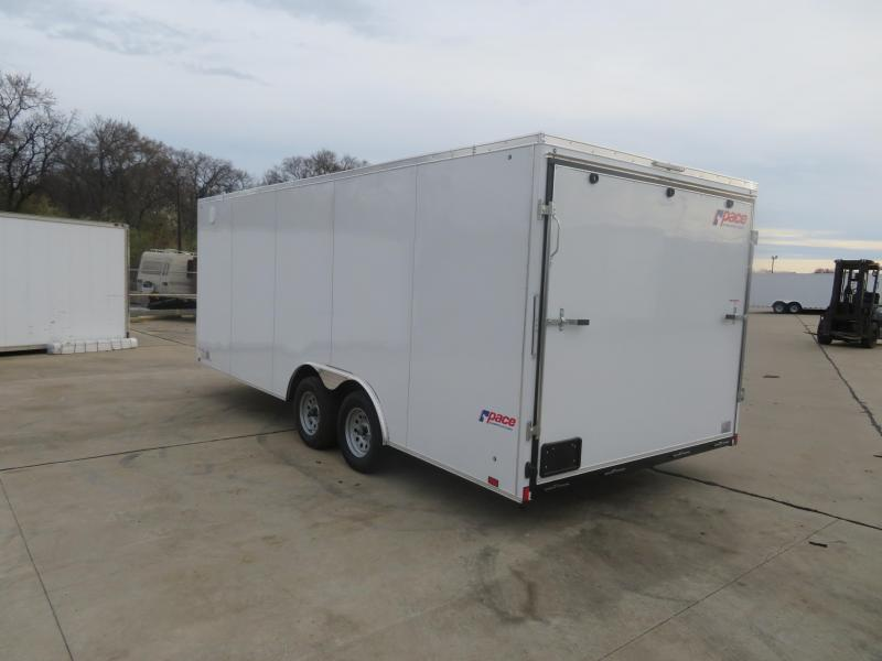 2020 Pace American 8.5 x 20 Enclosed Cargo Trailer