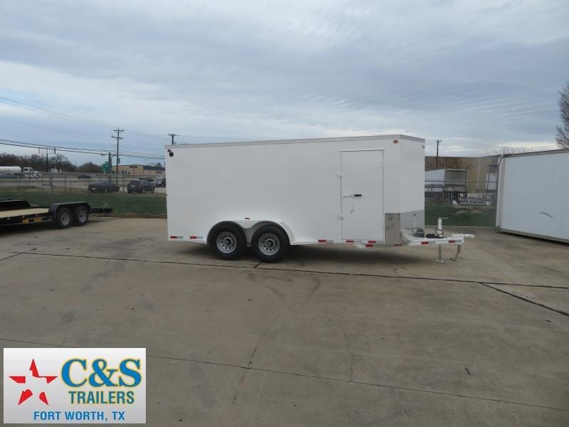2020 Delco Trailers 6.8 x 14 Enclosed Cargo Trailer