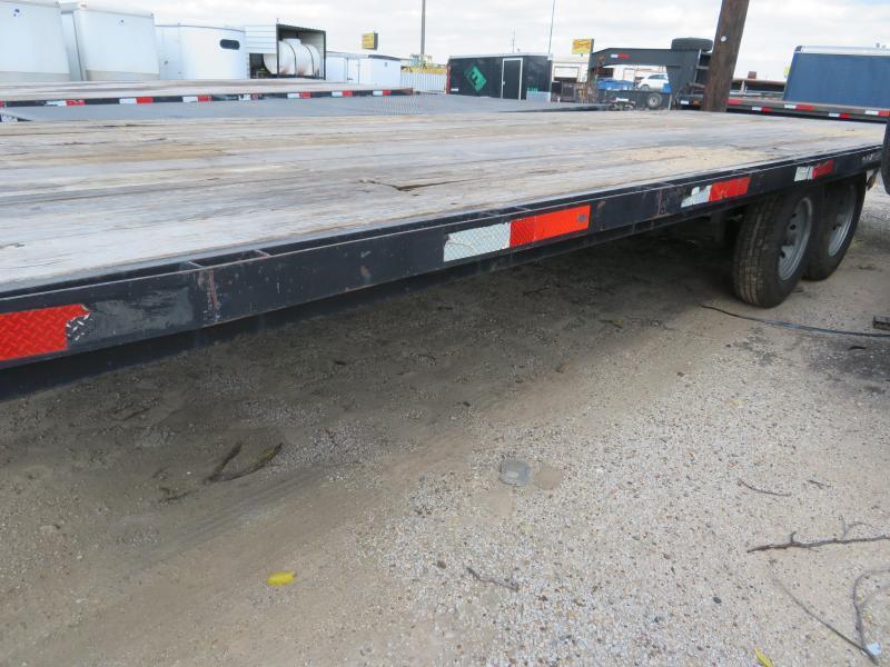 Rental 74 - 2015 C&S 24' Deckover Flatbed Trailer
