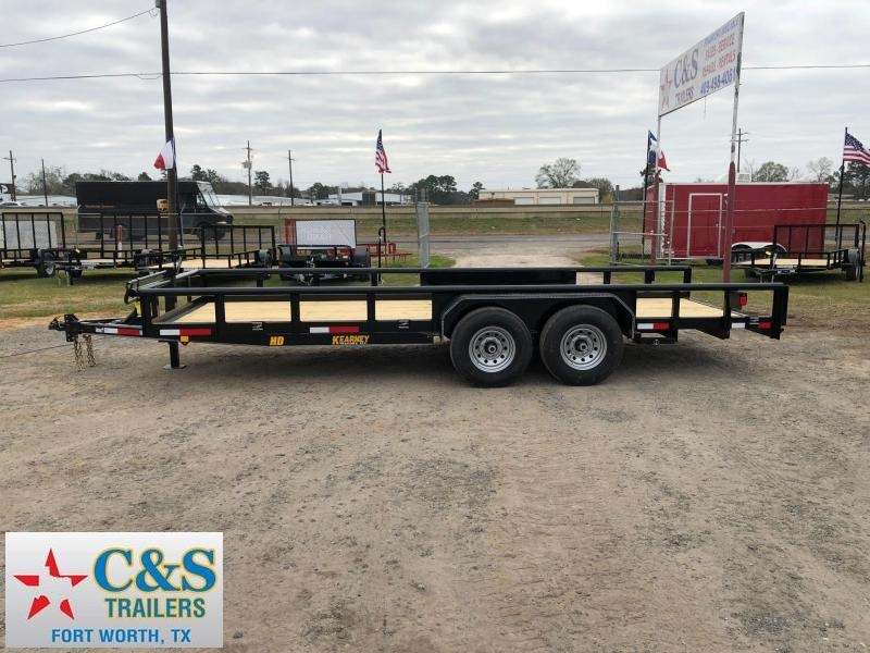 2019 Kearney 83x20 BPTA Equipment Trailer