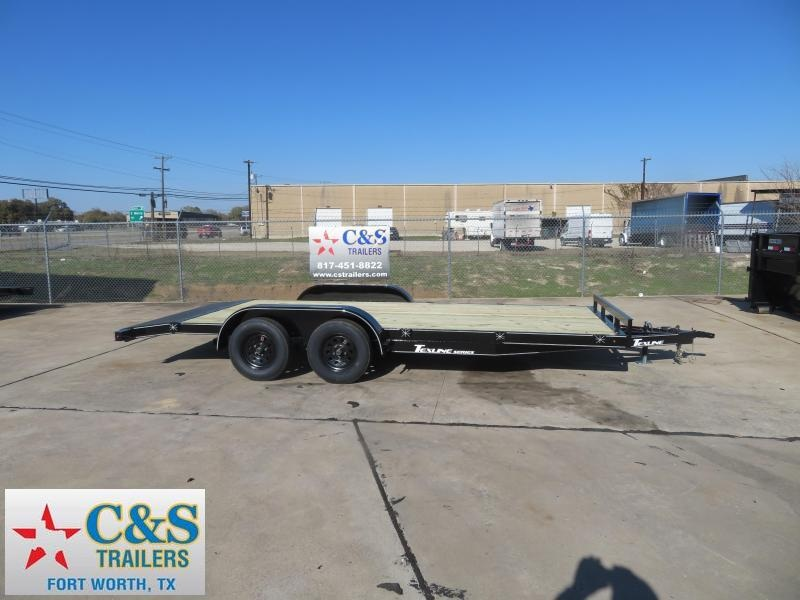 2020 TexLine 83 x 18 Car / Racing Trailer