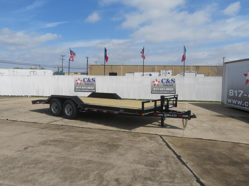 2020 Delco Trailers 102 x 20 Enclosed Cargo Trailer
