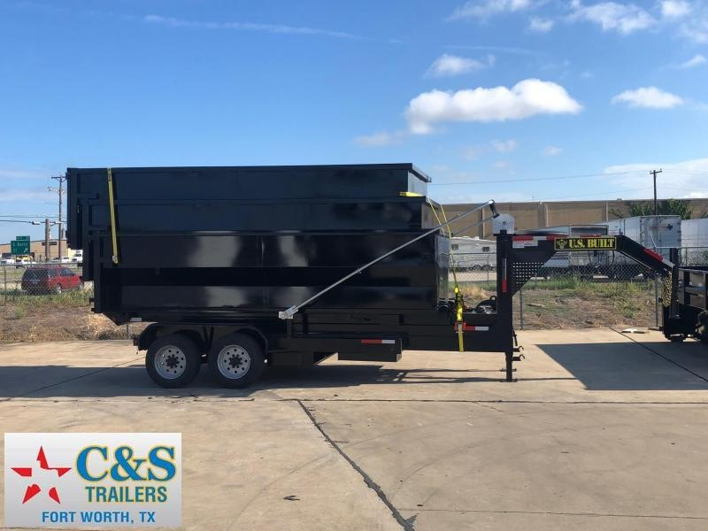 2019 U.S. Built 7 x 16 Roll Off Dump Trailer