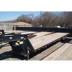 "Rental 21 - Big Tex 96"" x 35' + 5' Trailer"