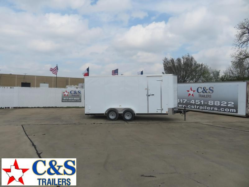 2020 Cargo Craft 7 x 18 Enclosed Cargo Trailer