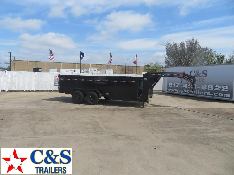 2020 Delco Trailers 83 x 16 Enclosed Cargo Trailer