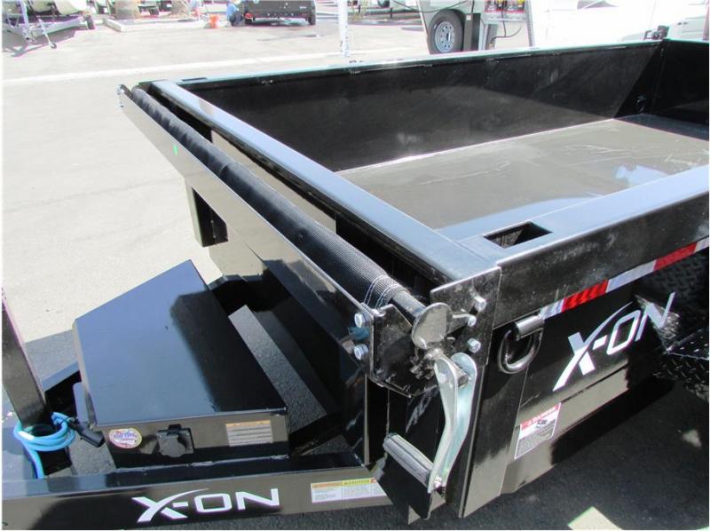 "2020 X-On BP Dump Trailer 60""x10'  7K"