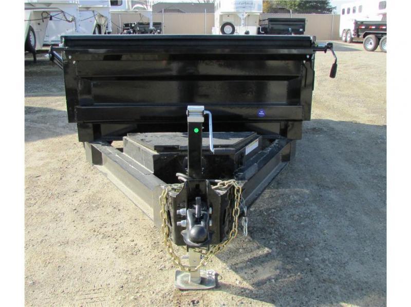 "2019 Norstar BP Dump Trailer IRON BULL 60""X10'  2-3,500lb Axles"