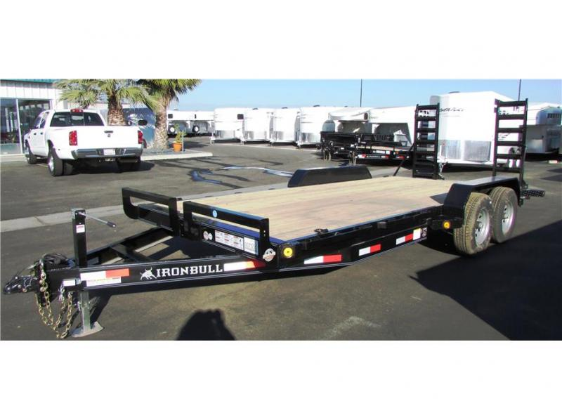 2017 Norstar BP Equipment Trailer 83x18 IRON BULL 14,000 GVWR