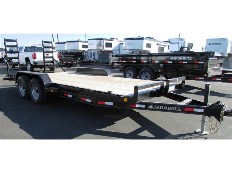 2017 Norstar BP Equipment Trailer 83x20 IRON BULL 10,000 GVWR