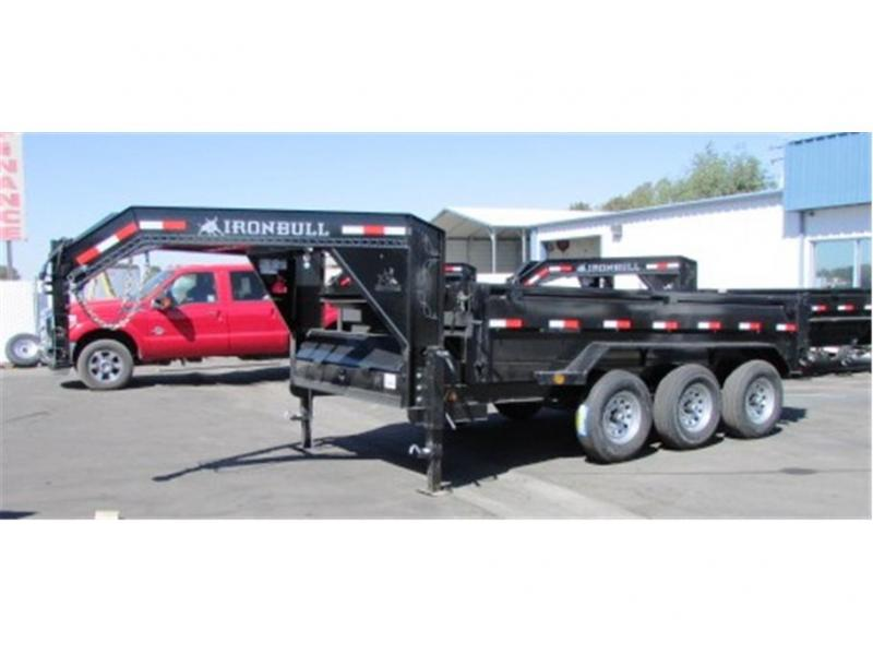 "2019 Norstar GN Dump Trailer IRON BULL 83""X14'  3-7,000lb Axles"