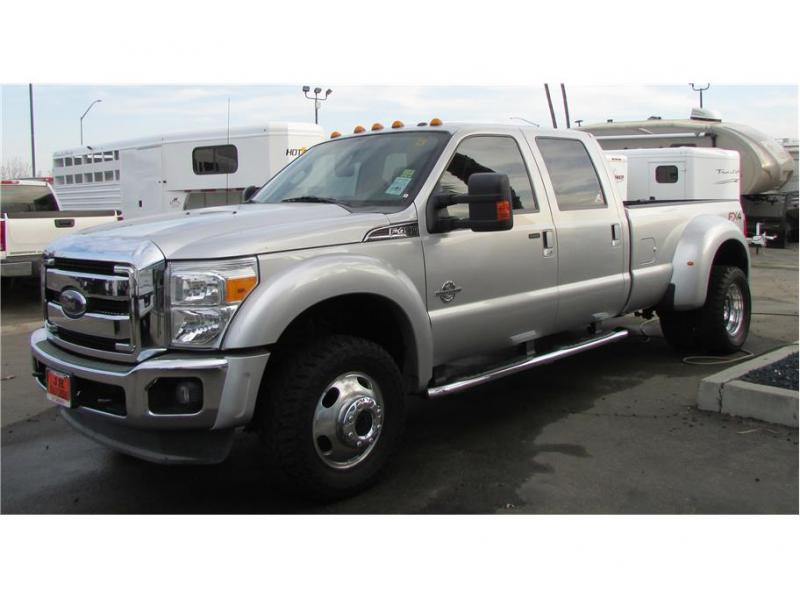 2012 Ford F450 Super Duty Crew Cab Lariat Pickup 4D 8 ft
