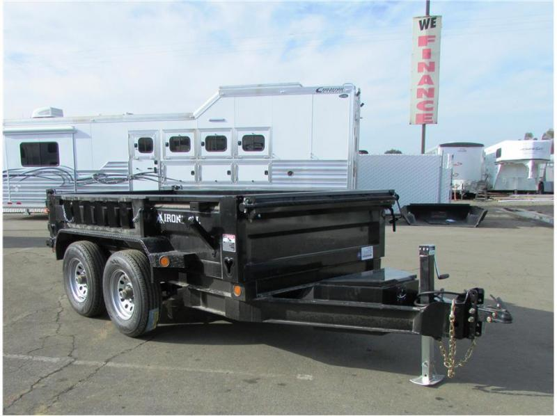 "2019 Norstar BP Dump Trailer IRON BULL 60""X10'  2-5,200lb Axles"