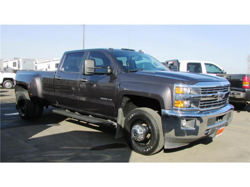 2015 Chevrolet Silverado 3500 HD Crew Cab LT Pickup 4D 8 ft