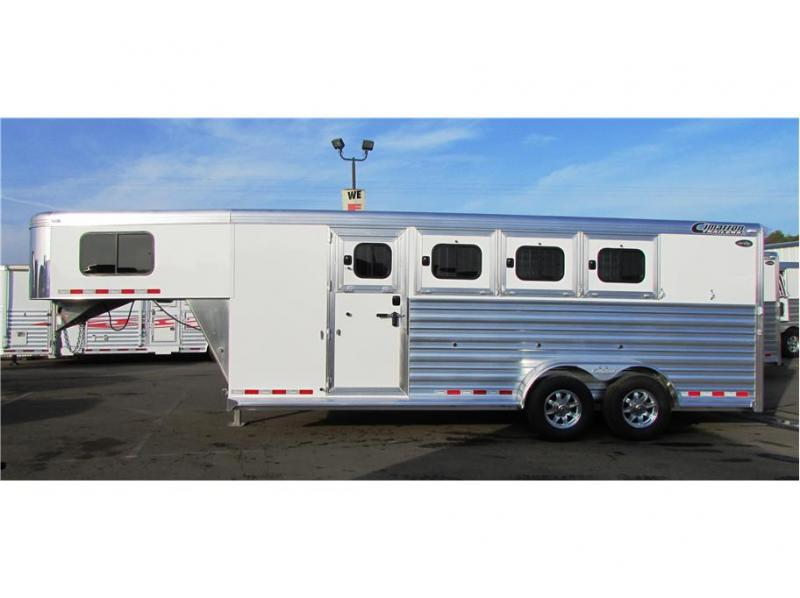 2019 Cimarron Trailers Norstar 4H GN  21'X6'10""