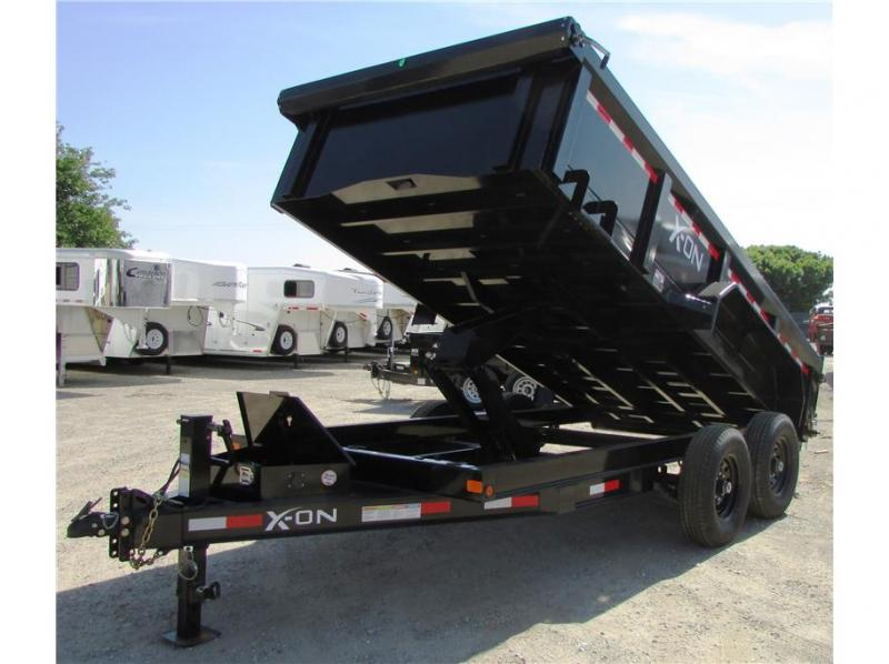 "2020 X-On BP Dump Trailer 83""x14' 14K"