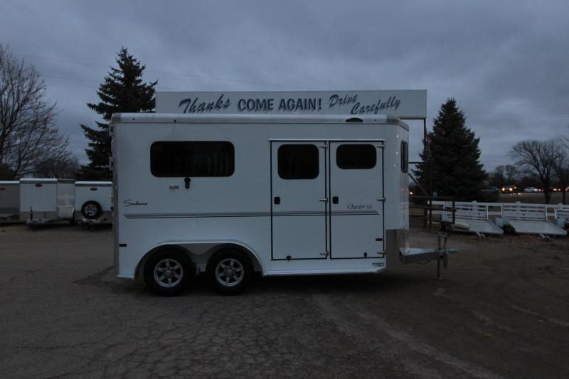 2020 Sundowner Trailers Charter 2HR BP Horse Trailer