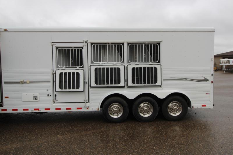 2009 Sundowner Trailers 3HR GN 18 LQ Horse Trailer