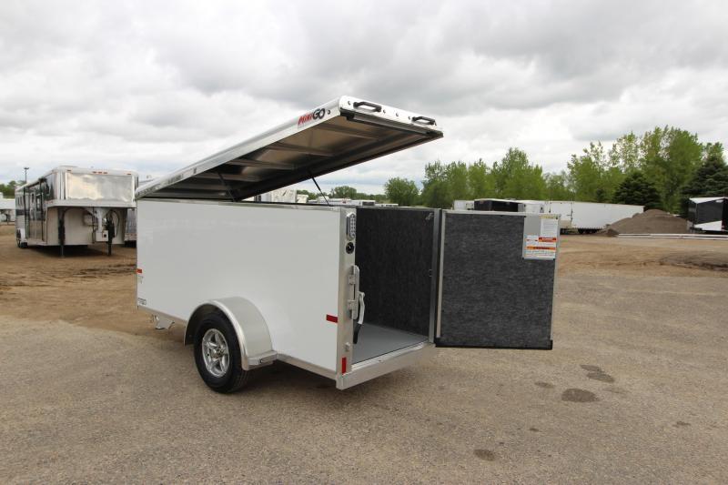 2020 Sundowner Trailers Mini Go 4x10 Enclosed Cargo Trailer