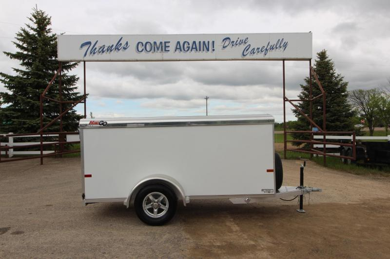 2020 Sundowner Trailers Mini Go 4x10 Enclosed Cargo Trailer