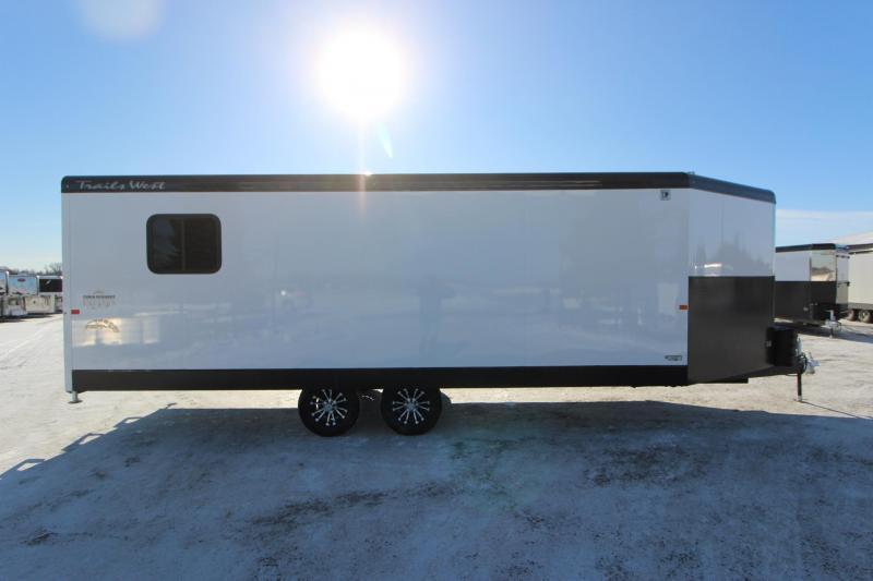 2020 Trails West Manufacturing RPM 28' BP Snowmobile Trailer