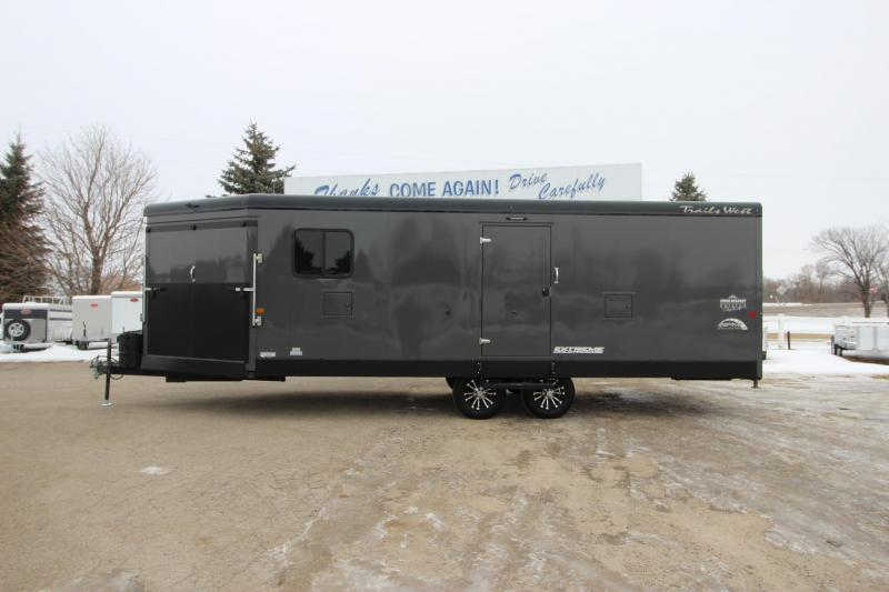 2020 Trails West Manufacturing RPM 28' BP Snowmobile Trailer
