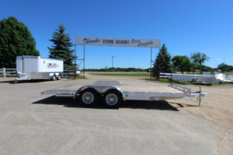 2018 American Hauler Industries 8x18 3.5k axles Car / Racing Trailer